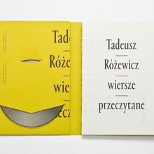 <cite>Wiersze Przeczytane</cite> by Tadeusz Różewicz