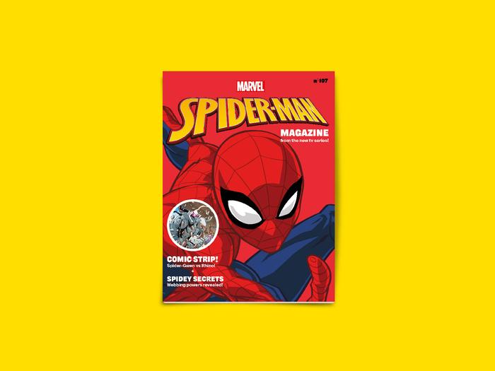 Spider-Man Magazine restyling system 1