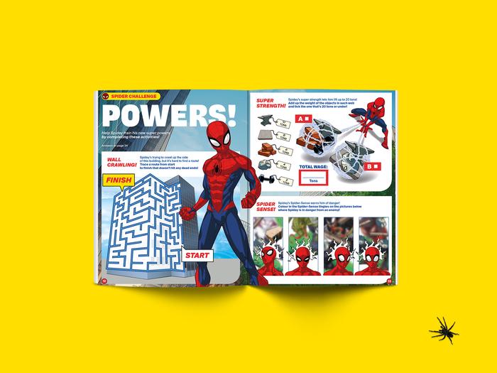 Spider-Man Magazine restyling system 5