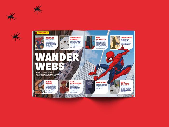 Spider-Man Magazine restyling system 3