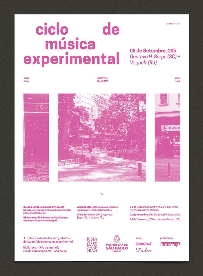Ciclo de Música Experimental 2016 2