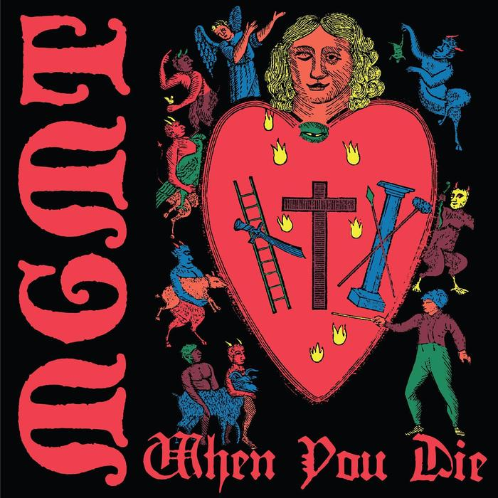 The second single When You Die (12 Dec 2017) however used Blackmoor for the band's name and Gutenberg Textura for the title.