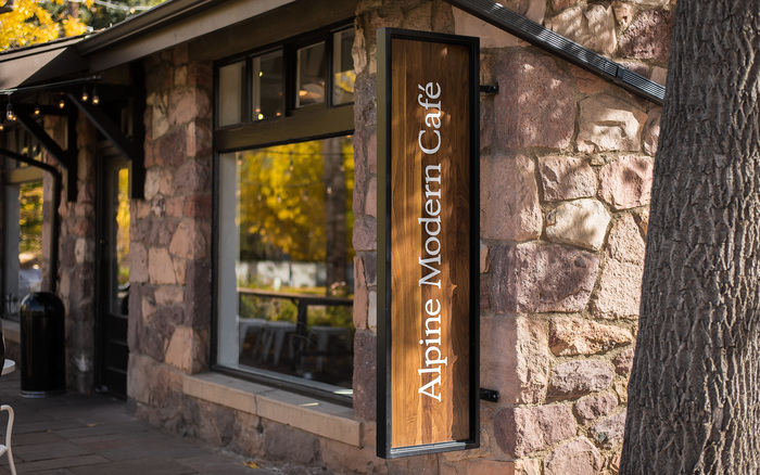 Alpine Modern Café 1