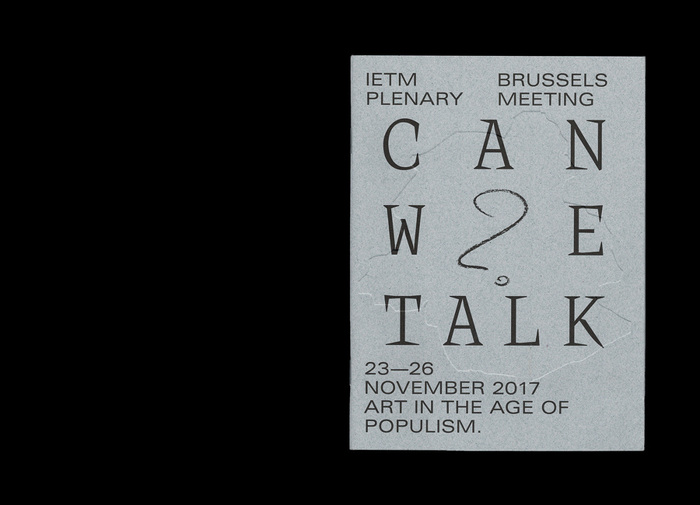 Can We Talk? Art in the age of populism (publication) 1