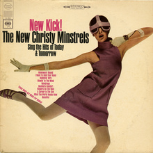 The New Christy Minstrels<cite> – New Kick! </cite>album art