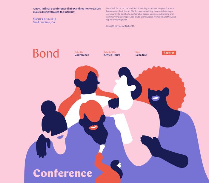 Bond Conference 2018 website 1