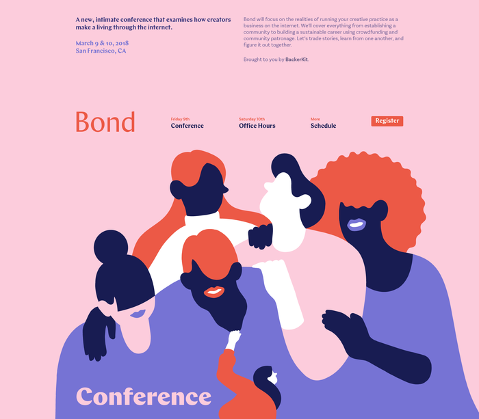 Bond Conference 2018 website 1