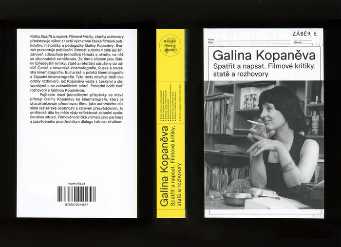 Galina Kopaněva. Spatřit a napsat. Filmové kritiky, statě a rozhovory 4