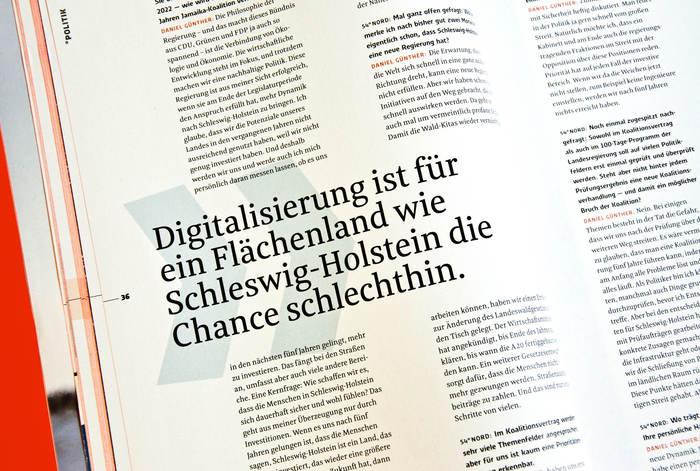 54° Nord, a magazine for Schleswig-Holstein 2