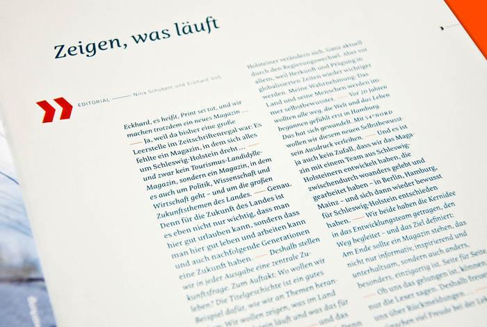 54° Nord, a magazine for Schleswig-Holstein 9