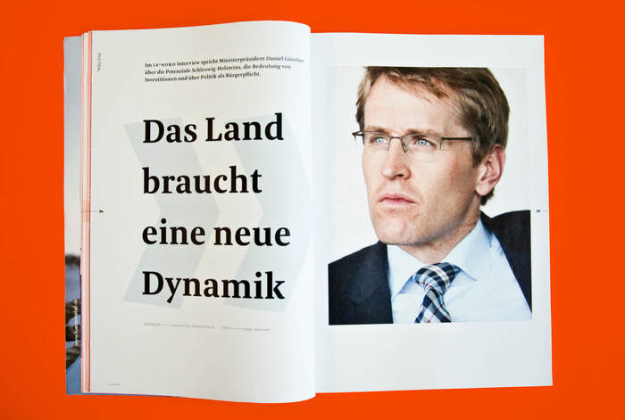 54° Nord, a magazine for Schleswig-Holstein 8
