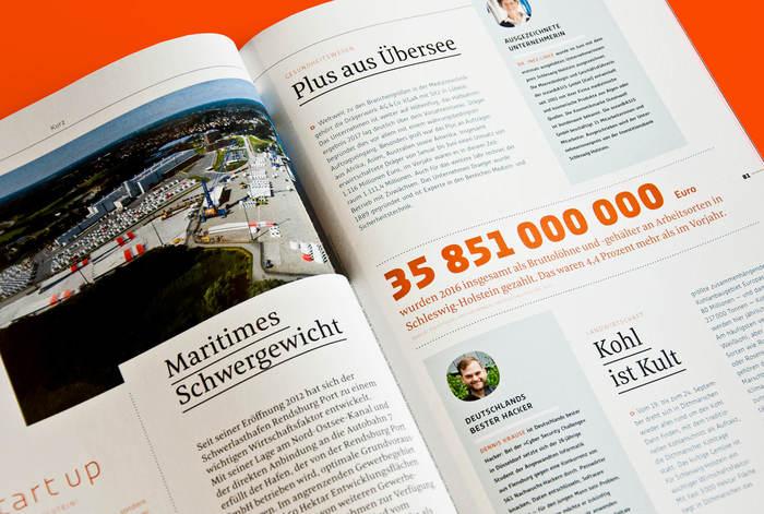 54° Nord, a magazine for Schleswig-Holstein 12