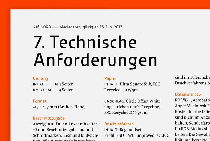 54° Nord, a magazine for Schleswig-Holstein 28