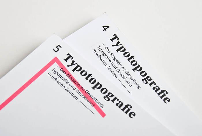 Typotopografie magazine 9