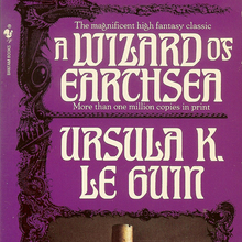 <cite>Earthsea</cite> cycle – Ursula K. Le Guin (Bantam Books)