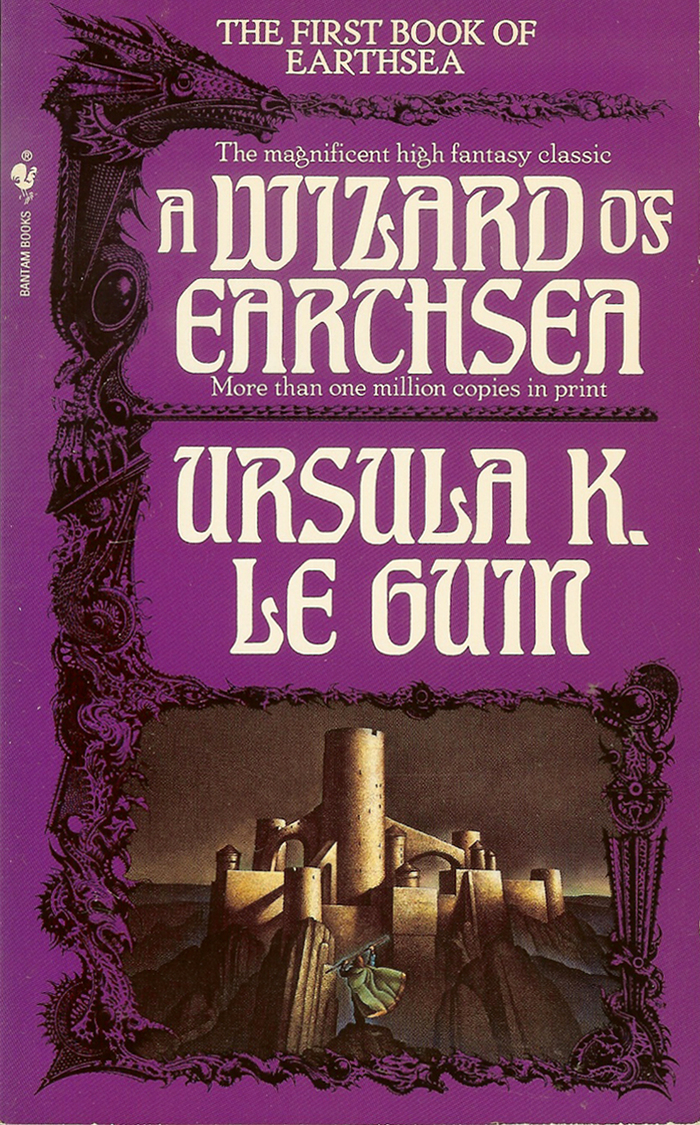 Earthsea cycle – Ursula K. Le Guin (Bantam Books) 1