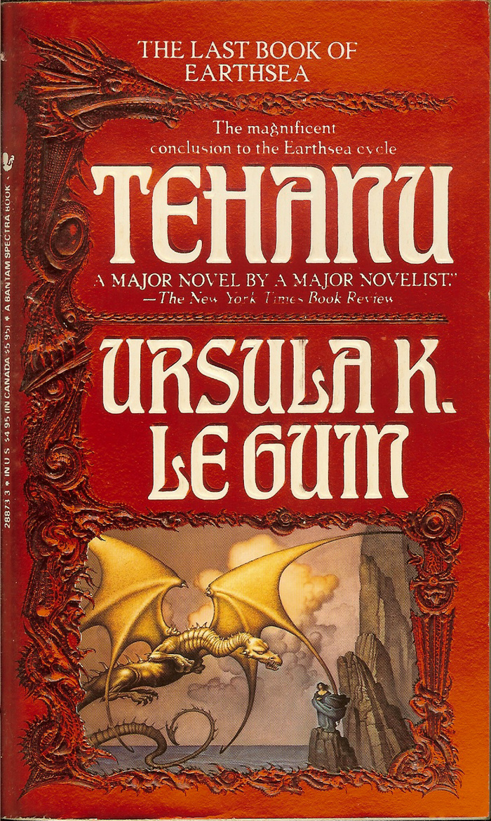 Earthsea cycle – Ursula K. Le Guin (Bantam Books) 3
