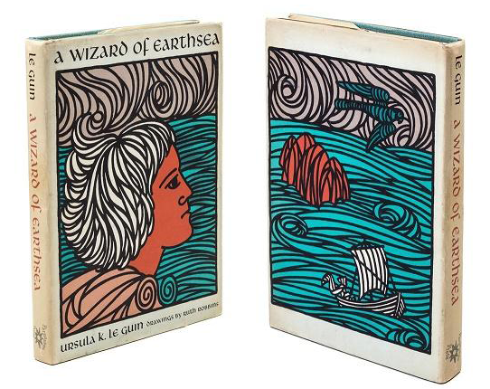 A Wizard of Earthsea by Ursula K. Le Guin, Parnassus Press (1968) 4