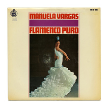 Manuela Vargas – <cite>Flamenco Puro</cite> album art