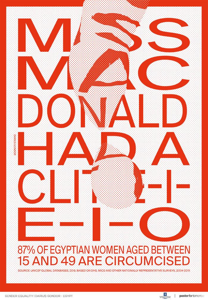 Female genital mutilation awareness posters 3