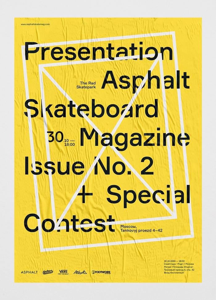 Asphalt skateboard magazine, issue 2 16