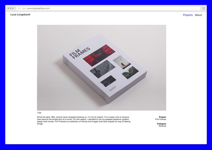 Luca Longobardi website 3