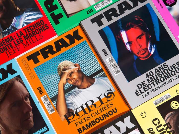 Trax magazine 1