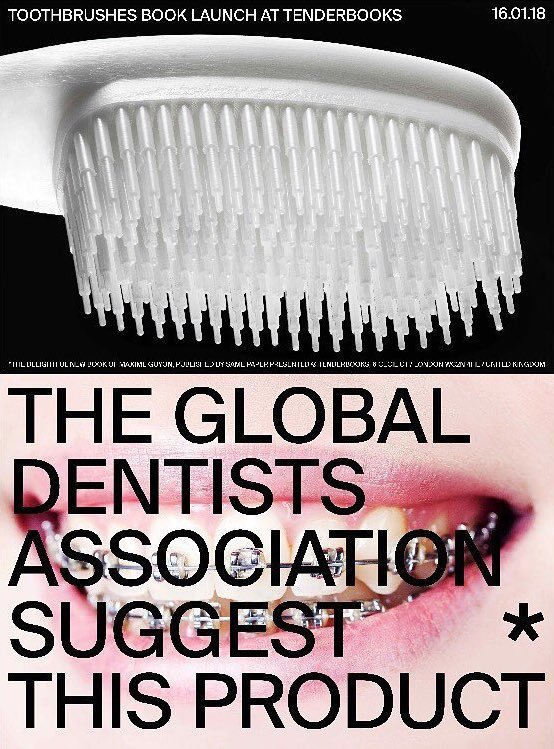 Maxime Guyon's Toothbrushes book launch 2