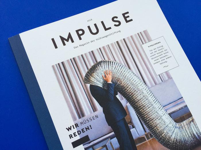 Impulse magazine, 2018 redesign 1