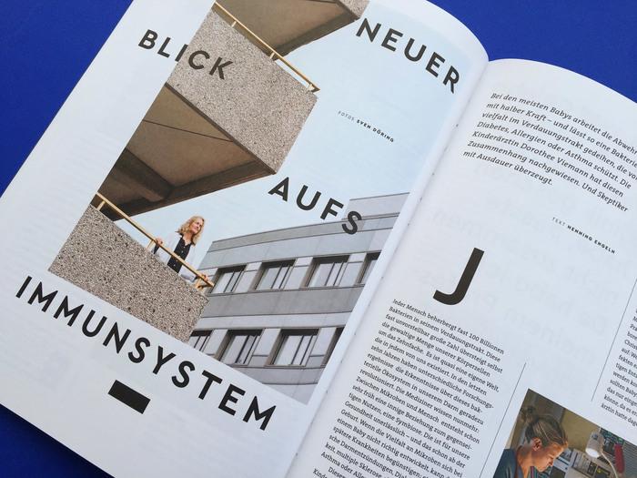 Impulse magazine, 2018 redesign 9