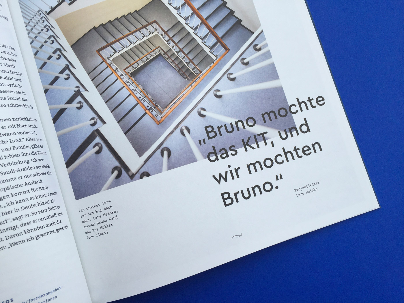 Impulse magazine, 2018 redesign - Fonts In Use