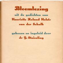 <cite>Bloemlezing</cite> by Henriette Roland Holst-van der Schalk