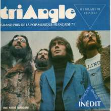 "Triangle – ""Les Brumes De Chatou<cite>""</cite> single cover"
