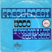 "Fresh Meat – ""Hobo"" Portuguese and German single covers"