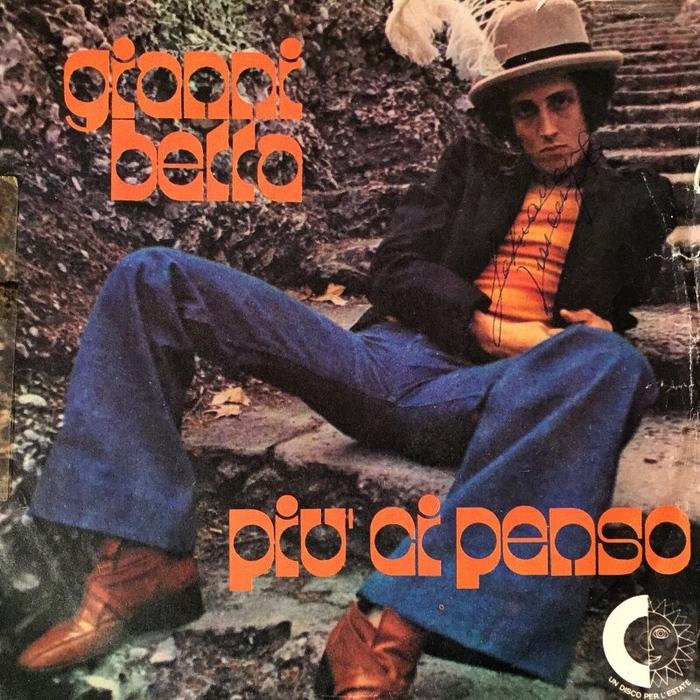 """Gianni Bella – """"Più Ci Penso"""" Italian single sleeve 1"""