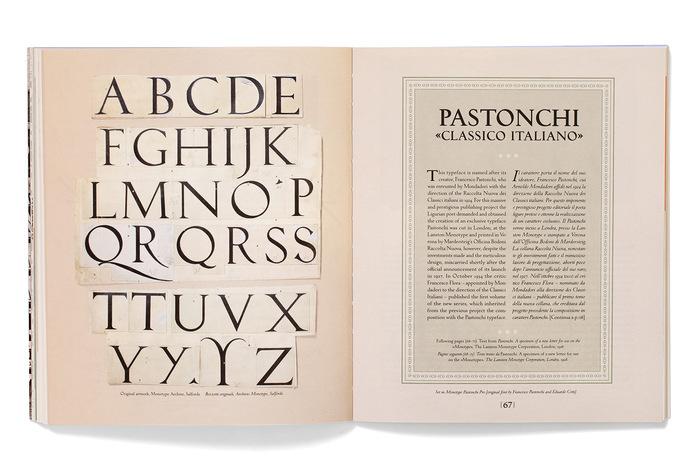 Set in Monotype Pastonchi Pro [original font by Francesco Pastonchi and Eduardo Cotti]