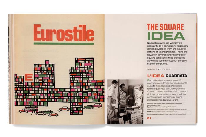 Set in Eurostile Next by Akira Kobayashi/Linotype [original font by Aldo Novarese/Nebiolo]