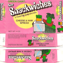 Green Giant Snackwiches