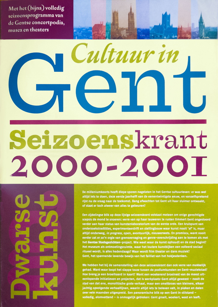 Cultuur in Gent
