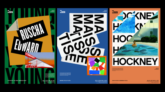 De Young Museum visual identity (fictional) 5