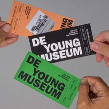 De Young Museum visual identity (fictional)