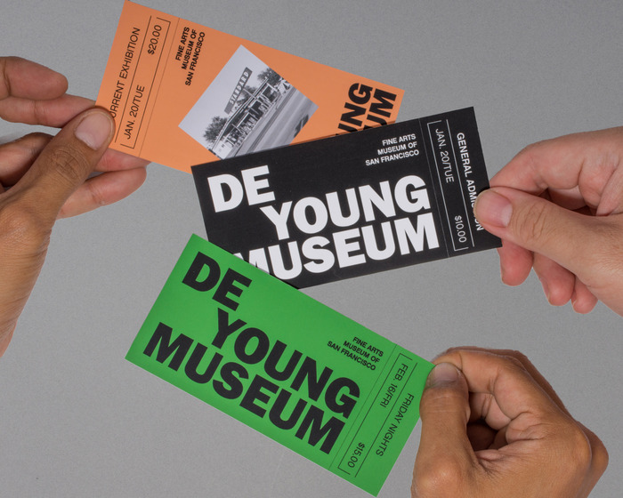 De Young Museum visual identity (fictional) 1