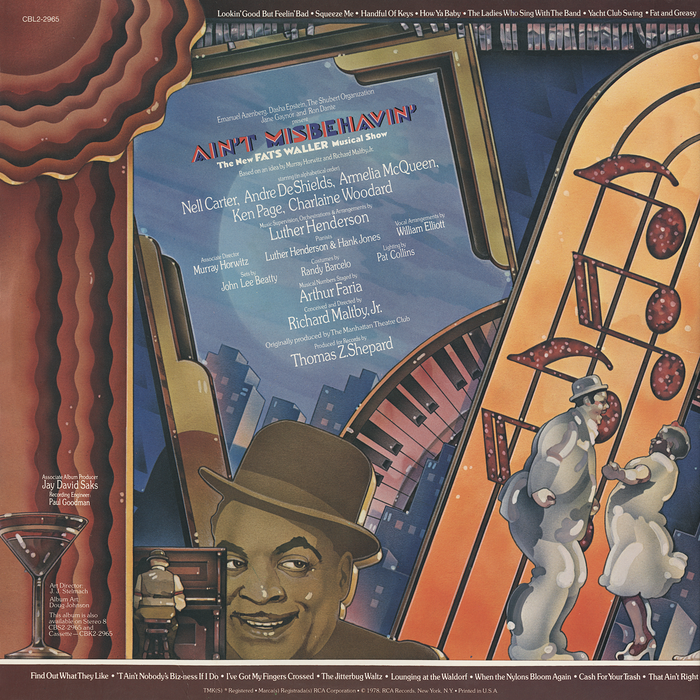 Ain't Misbehavin': The New Fats Waller Musical Show 4