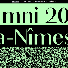 Alumni 2017 ESBA Nîmes