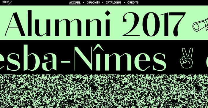 Alumni 2017 ESBA Nîmes 1