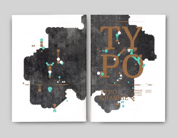 """Graphisme en France 2009/2010, """"Typographie"""" 1"""