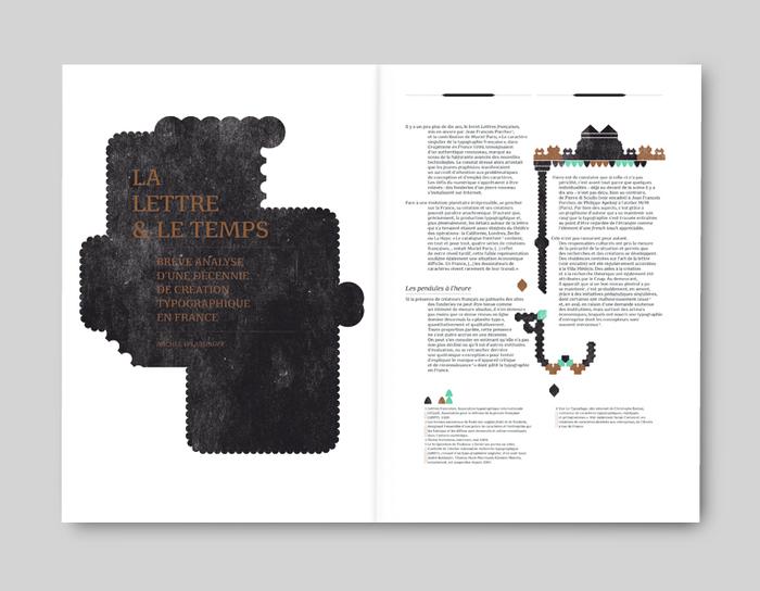 """Graphisme en France 2009/2010, """"Typographie"""" 4"""