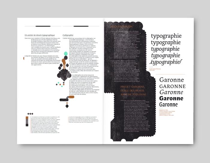 """Graphisme en France 2009/2010, """"Typographie"""" 7"""
