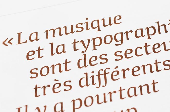 """Graphisme en France 2009/2010, """"Typographie"""" 3"""
