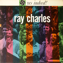 Ray Charles – <cite>Yes Indeed! </cite>album art